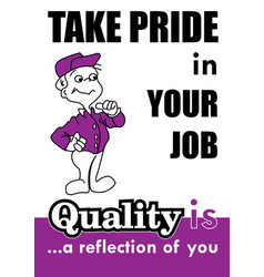 Take pride vector