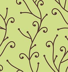 tree branch pattern vector image vector image