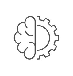 Artificial cybernetic brain concept using high vector