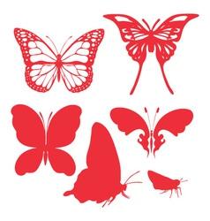 Butterfly DIgital Clipart 2 vector