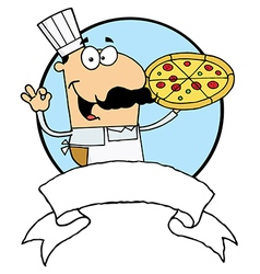 Cartoon chef vector