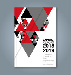 Cover annual report 1146 vector