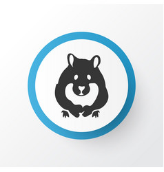 Hamster icon symbol premium quality isolated vector
