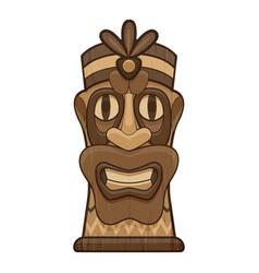 Island idol icon cartoon style vector
