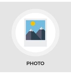 Photo flat Icon vector image