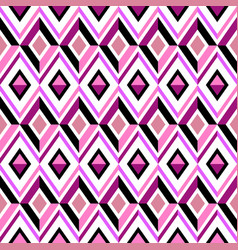 pink diamond pattern vector image