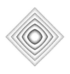 rhombus shape background vector image
