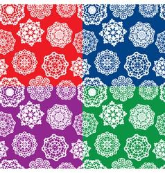 Snowflakes seaml 380 vector