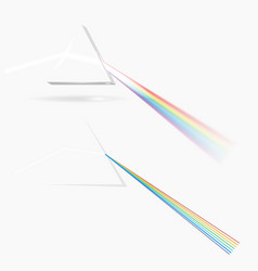 spectrum prism picture transparent optical vector image