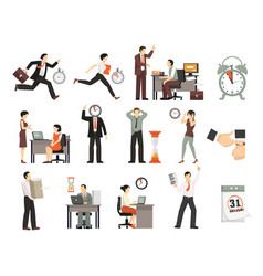 Time limited people set vector