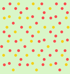 Vintage polka dots in scatter background seamless vector