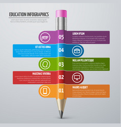 business learning and school education vector image vector image