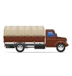 cargo truck 02 vector image vector image