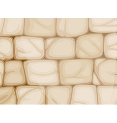A wall made of bricks vector
