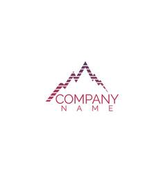 Mountains logo design vector
