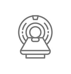 Mri scanner magnetic resonance imaging device vector