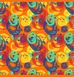 Painted wall seamless pattern vector