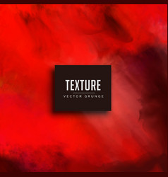 Red watercolor texture background vector