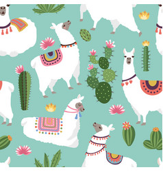 Textile fabric seamless patterns with vector