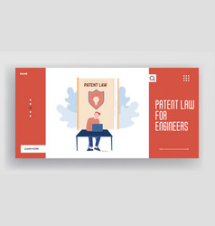 writer create new book mental property website vector image