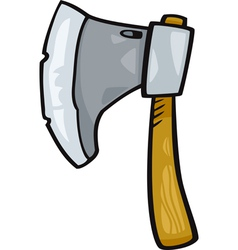 axe clip art cartoon vector image vector image