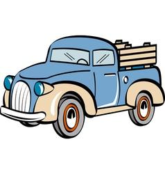 Farm truck vector image vector image