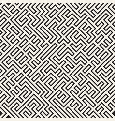 Irregular maze lines abstract geometric vector