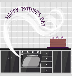 Kitchen mother39s day women39s day vector