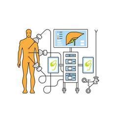 Medical aid concept vector