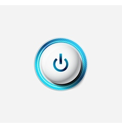 Power button vector