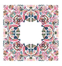 Precious frame for design template ornate vector