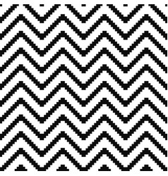 seamless geometric pattern - black and vector image