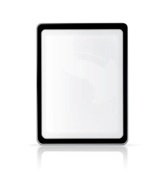 Touch screen vertical vector image
