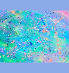 Unicorn background with rainbow mesh fantasy vector
