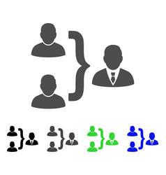 User union flat icon vector
