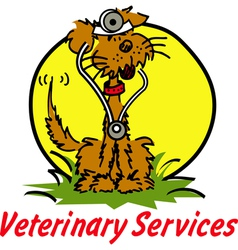 Veterinary Services vector image