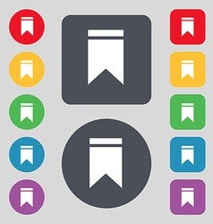 Web stickers tags and banners Sale icon sign A set vector image