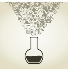 Science5 vector image