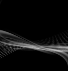 Dark smoke modern abstract background vector image