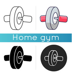 Ab roll icon vector