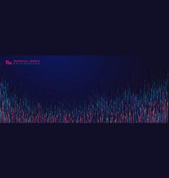 Abstract color design futuristic pattern line vector