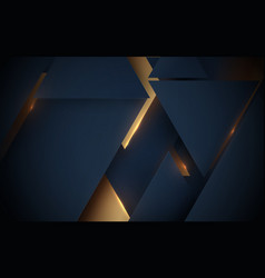 abstract geometric luxury technology background vector image