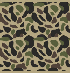 camouflage pattern background seamless classic vector image