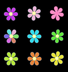 Flowers image vector