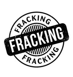 Fracking rubber stamp vector