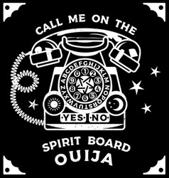 Ouija boards occultism set voices from other vector