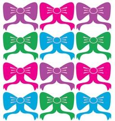 Ribbons Bows vector