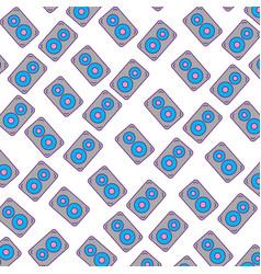 speaker audio pattern background vector image