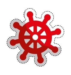 timon ship maritime icon vector image