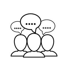 Talk Bubble speech vector image